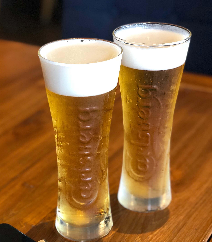 ジャムオーケストラさんのビールサービス