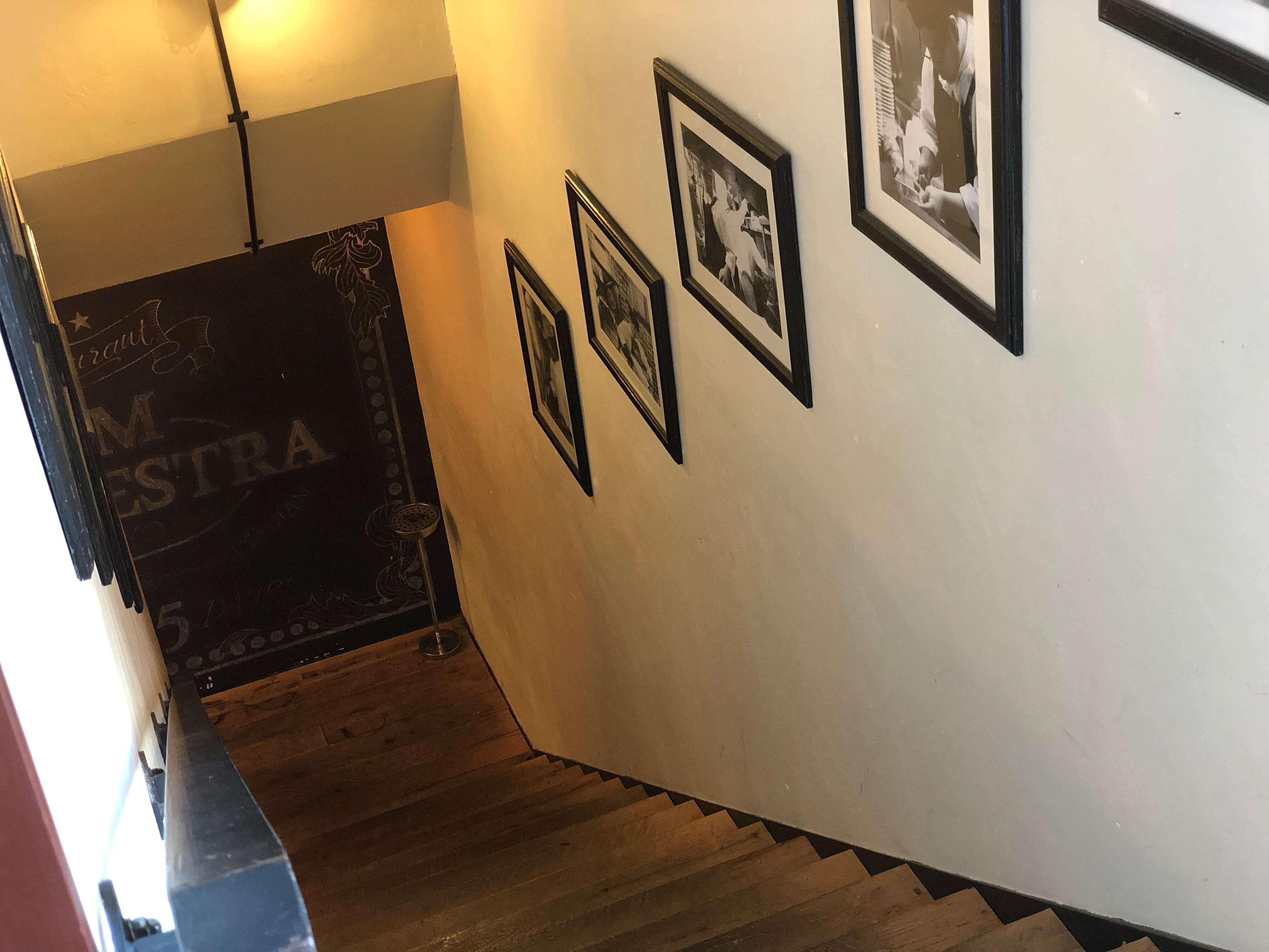 ジャムオーケストラさんの階段