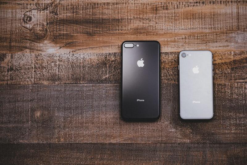 iPhoneの大きさ違い